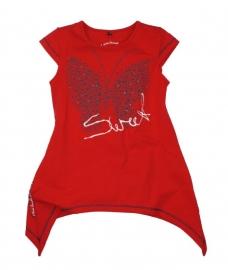 "Tuniek ""Butterfly"" rood"