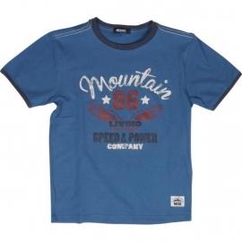 "T-Shirt ""Arturo"" Grijsblauw"