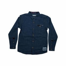 """Overhemd """"walker"""" jeansblauw"""