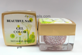 Glitter Color Gel
