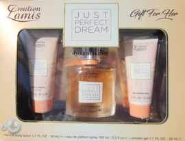 JUST PERFECT DREAM GIFTSET WOMEN
