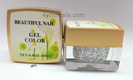 Glitter Color Gel