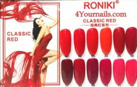 Classic Red Gellak