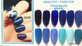 Vivid Blue Gellak