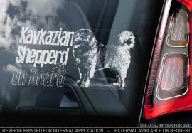 Kaukasische owcharka - Caucasian Shepherd - Kavkazian Shepperd  V01