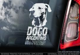 Dogo Argentino ongecoupeerd - V03