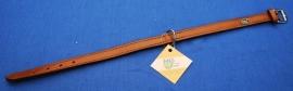 Lederen halsband 42 cm (4156050)