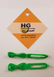 Kleine haarclip Groen