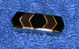slider # <<>> staal - zwart