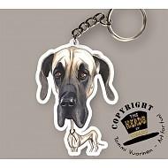 HEADS SLEUTELHANGER DUITSE DOG