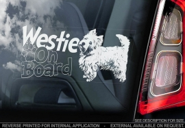 West Highland White Terrier (Westie) V02
