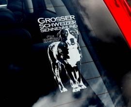 Grote Zwitserse Sennenhond -  Great Swiss Mountain Dog - Grosser Schweizer Sennenhund V2