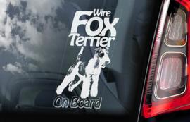 Fox Terrier draadhaar - Fox Terrier Wired V02