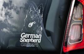 Duitse Herderhond langhaar  - Deutscher Schäferhund - German Shepherd V12