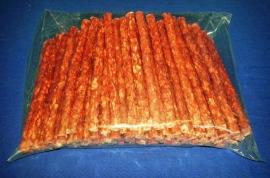 Munchy-sticks 100 stuks rood (1ner036)