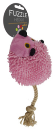Fuzzle Hedgie With Tail Pink