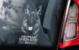 Duitse Herderhond - Deutscher Schäferhund - German Shepherd  V22