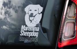Berghond van de Maremmen - Maremma Sheepdog V01