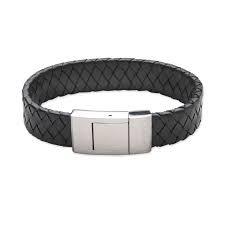Lederen armband XL #1750