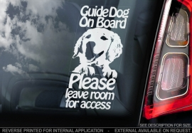 Geleide hond - Assistance dog - Guide Dog - Golden Retriever V02