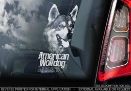 Amerikaanse Wolfhond - American Wolfdog - Amerikanischer Wolfshund V01
