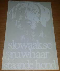 Slowaakse ruwhaar staande hond xxx