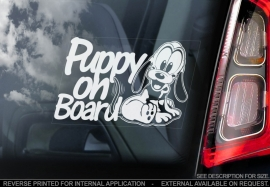 Puppy on Board V01