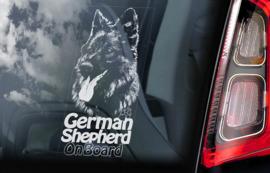 Duitse Herderhond langhaar  - Deutscher Schäferhund - German Shepherd V14