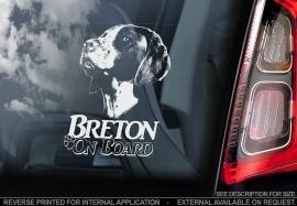 Epagneul Breton  -  Brittany Spaniel V01 / V01