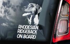 Hondenstickers rassen R