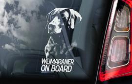 Hondenstickers rassen W