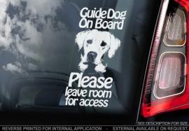 Geleide hond - Assistance dog - Guide Dog - Labrador V04