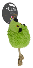 Fuzzle Hedgie With Tail Green