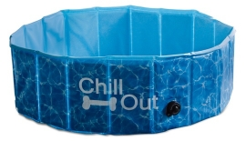 Zwembaden hond - AFP CHILL OUT-SPLASH AND FUN DOG POOL maat S