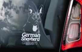 Duitse Herderhond - Deutscher Schäferhund - German Shepherd  V20