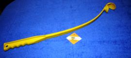Wegwerpstok geel