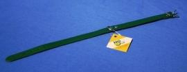 Groen lederen halsband 45 cm (4155000)