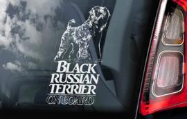 Zwarte Russische Terrier - Black Russian Terrier V01