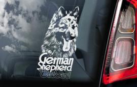 Duitse Herderhond langhaar  - Deutscher Schäferhund - German Shepherd V03