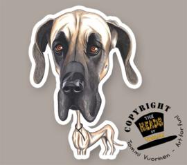 HEADS MAGNEET DEENSE DOG