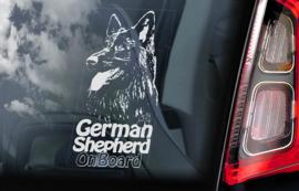Duitse Herderhond langhaar  - Deutscher Schäferhund - German Shepherd V15