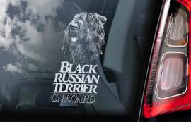 Zwarte Russische Terrier - Black Russian Terrier V02