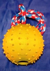 Bal (Ø 7cm) met bel in div kleuren (2kar45731)