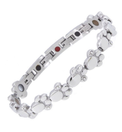 Armband Paw Zilver Mag