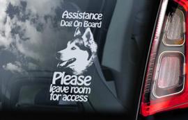 Geleide hond - Assistance dog - Guide Dog - Husky V08