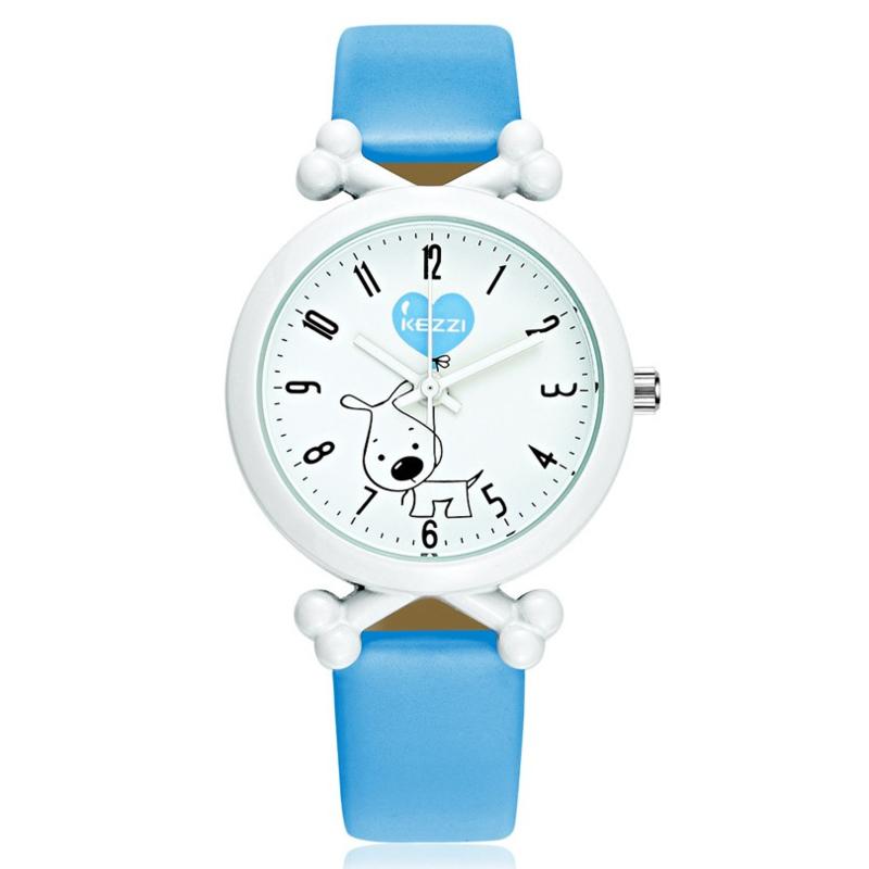 Horloge hond blauw