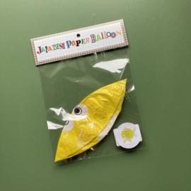 Visballon | geel
