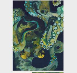 Ansichtkaart | octopus