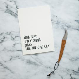 Quoteprent | Onions