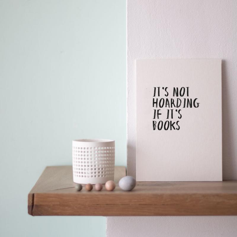 Quoteprent | Hoarding